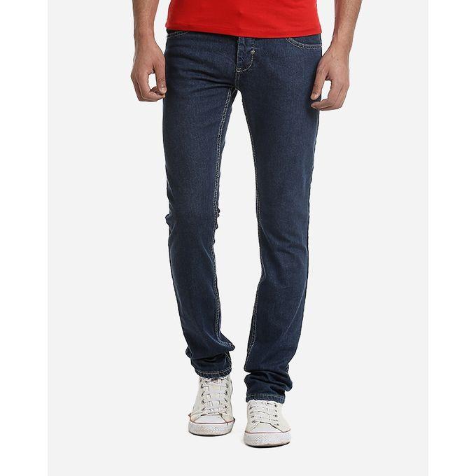 59b69ff4f بنطلون جينز 100% قطن ازرق داكن ساده - Jumia مصر
