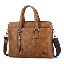 245a92f6c7a75 جيب رجل حقيبة بو الجلود الكمبيوتر حقيبة لاب توب لأغراض العمل خمر الرجعية حقيبة  حقيبة ساعي