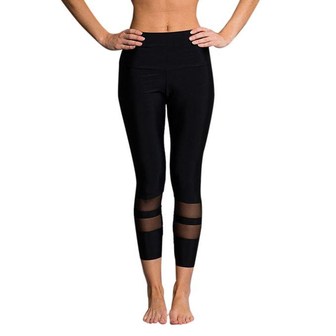 3d2626dd17da7 Hiamok Women High Waist Sports Gym Yoga Running Fitness Leggings Pants  Workout Clothes