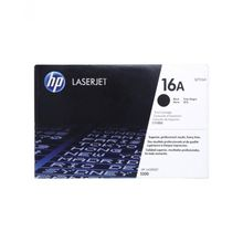 16A Black LaserJet Toner Cartridge