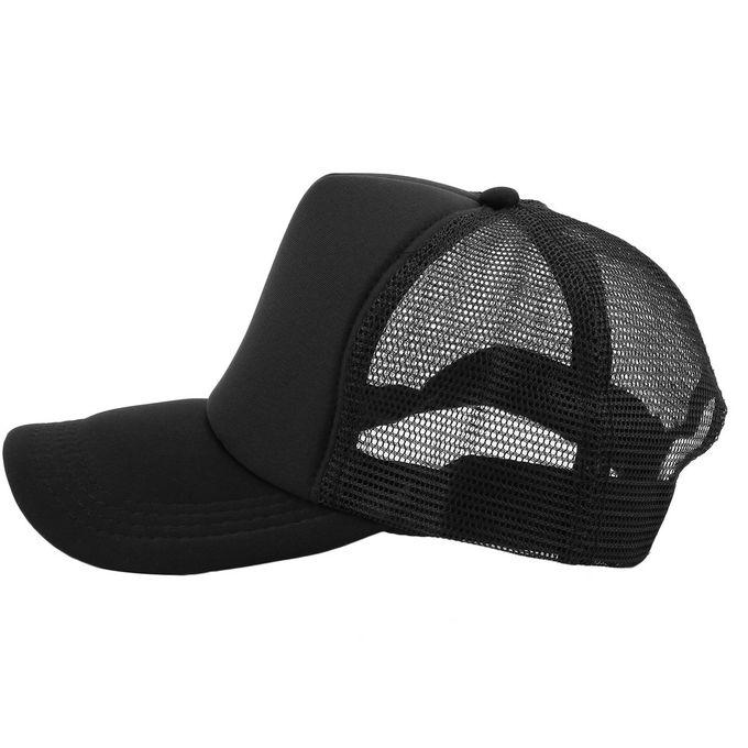 793702114 Summer Plain Trucker Mesh Hat Snapback Blank Baseball Cap Adjustable Size