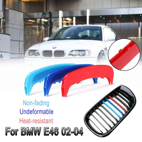 For Bmw E46 02 04 Saloon Coupe Convertible Grille M Color