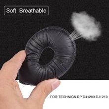 2PCS Headphone Earphone Soft Foam Ear Pad Earpad Cover Cusion For TECHNICS RP DJ1200 DJ121