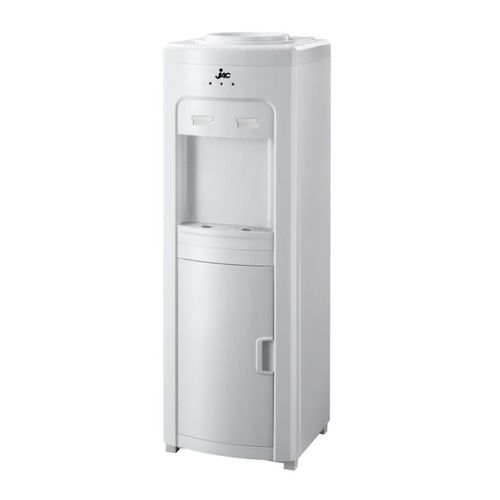 Hot & Cold Water Dispenser With Storage Cabinet - White