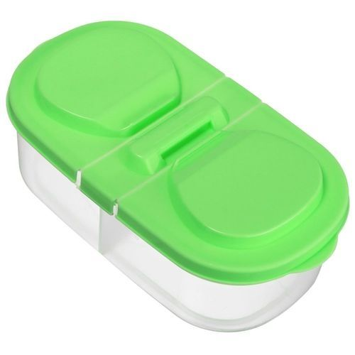 Plastic Kitchen Refrigerator Storage Box With Cover For Sugars Flour Snacks
