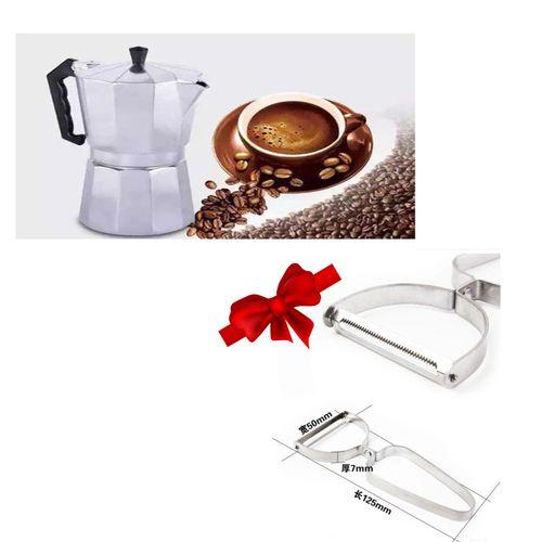 كنكة قهوه اسبريسو 1 فنجان + هدية مجانية