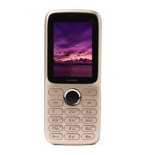 P240 - 2 4-inch Dual SIM Mobile Phone - Champagne/Black