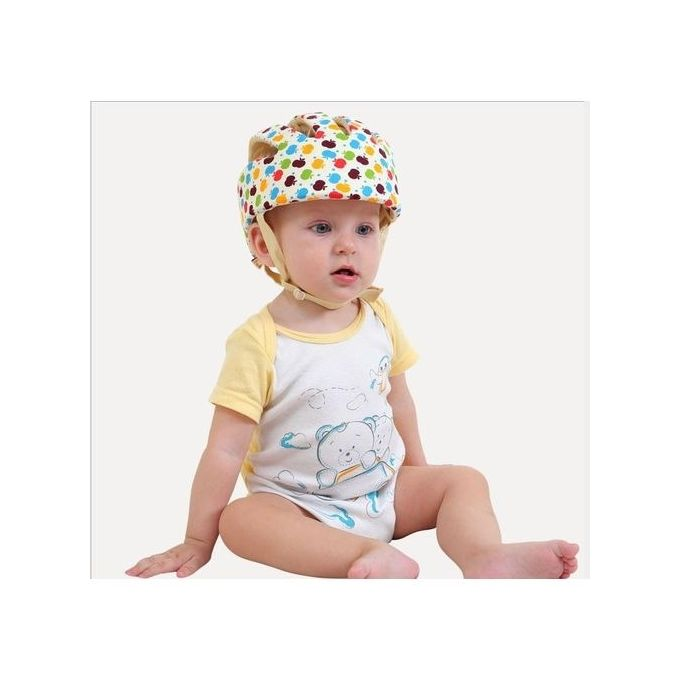 5c7425463d2 Adjustable Infant Baby Safety Helmet Kids Head Protection Caps Hat For  Walking Crawling (Multi-