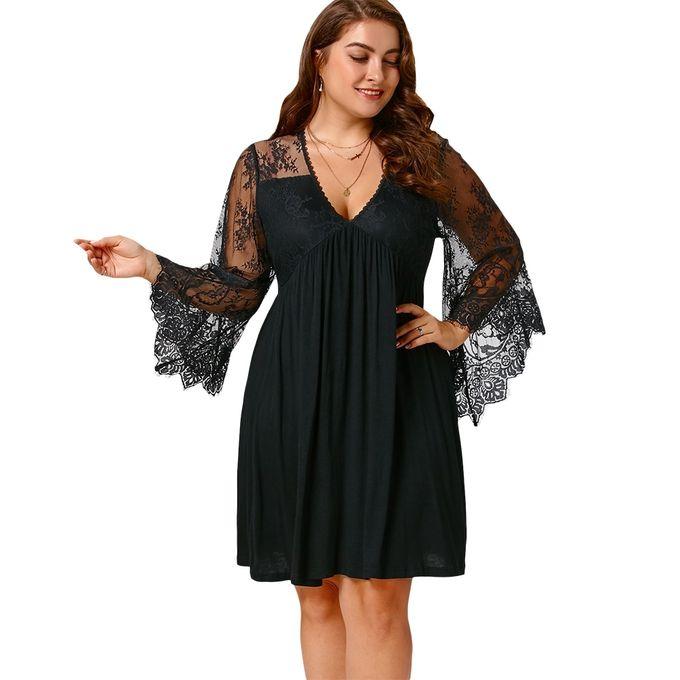 4d195662884be Sale on Empire Waist Plus Size Tunic Dress   Jumia Egypt