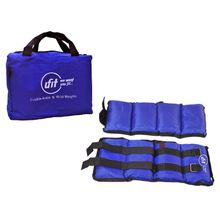 081cd673d95 Double Sand Weights With Carrying Bag - 3 Kg - Blue