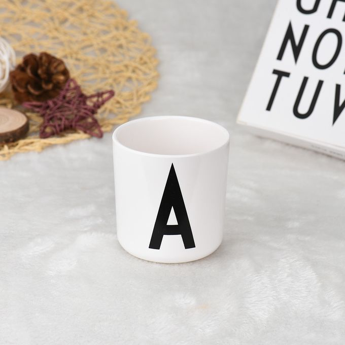 Lovely Milk Baby Drink Cup Alphabet Mug  Baby Drink Cup Safety –  مصر