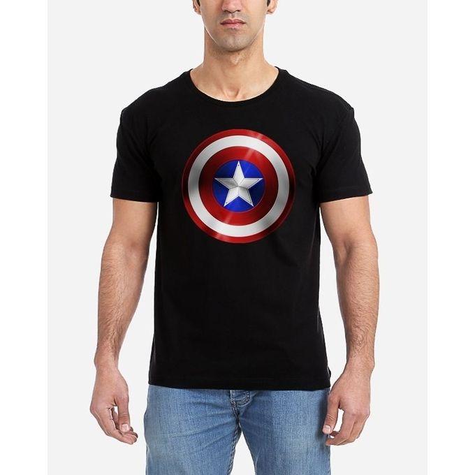 3cbfdcf0 Sale on Captain America T-Shirt - Black   Jumia Egypt