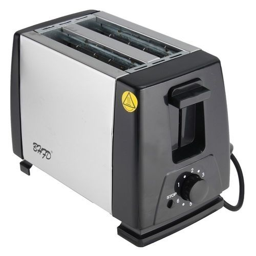 220V Electric Automatic 2 Slice Bread Toast Toaster Sandwich Maker Grill Machine