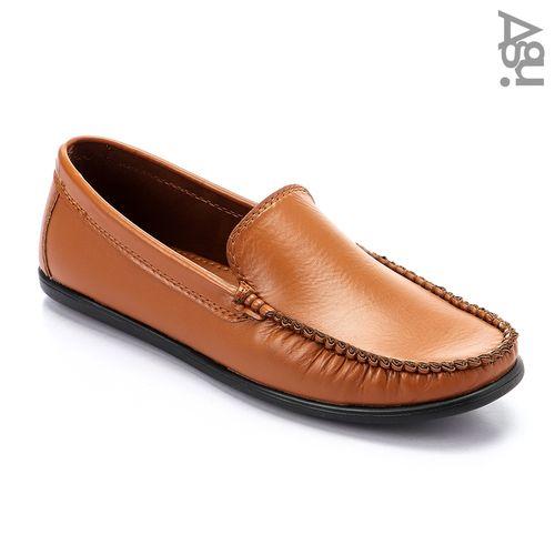 Elegant Leather Men Loafers - Havan