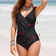 7a6aea3e6a1b0 Retro Vintage Bathing Suits Beachwear Print Swim Wear For Women Plus Size