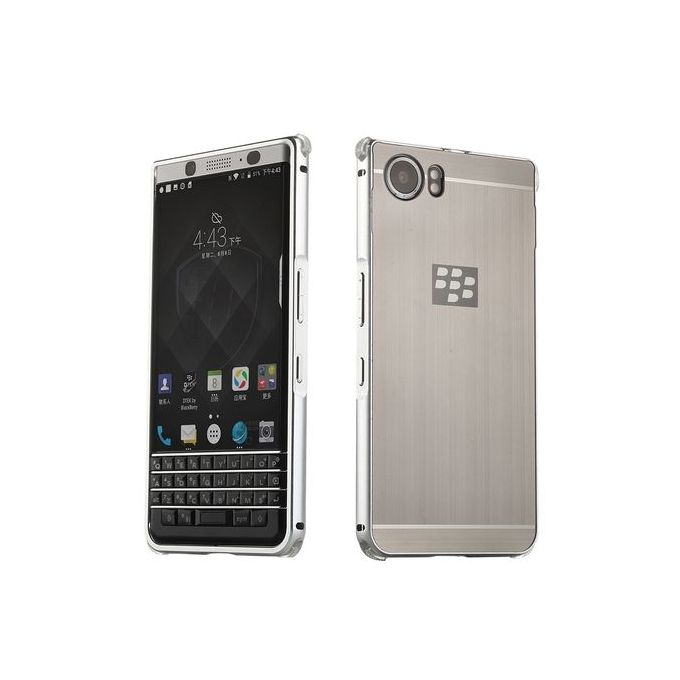 size 40 84e6a ff50a Blackberry KEYone Case , Luxury Metal Bumper + Brushed Hard Plastic Back  Cover 2 In 1 Cover Ultra Thin Frame
