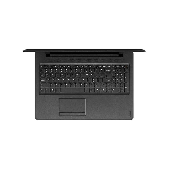 لاب توب Ideapad 110-15IBR - Intel Celeron - رام 4 جيجا بايت - هارد ديسك درايف 500 جيجا بايت - شاشة عالية الجودة 15.6 بوصة - معالج رسومات إنتل - ويندوز 10 - أسود