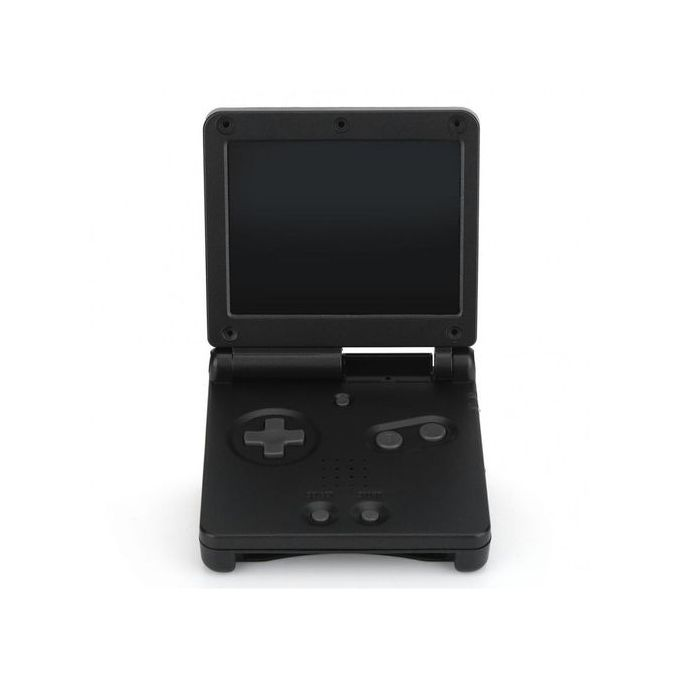 For Nintendo Game Boy Advance GBA SP Protective ABS Case Cover Repair Parts  Kit Black