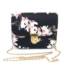 2ba5f4bce2c17 Women Butterfly Flower Printing Handbag Shoulder Bag Tote Messenger Bag BK