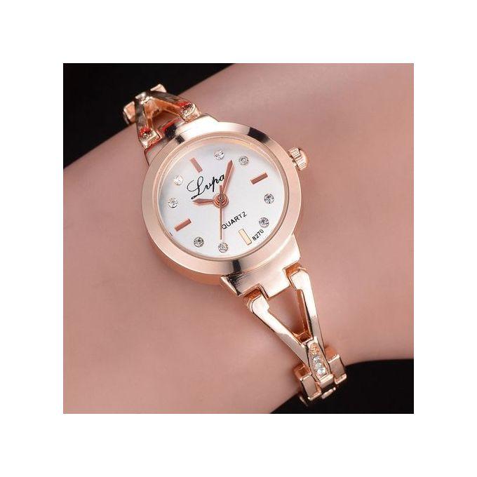ea3273d2d Vogue Women's Watch Crystal Diamond Bracelet Quartz Wrist Watch ...