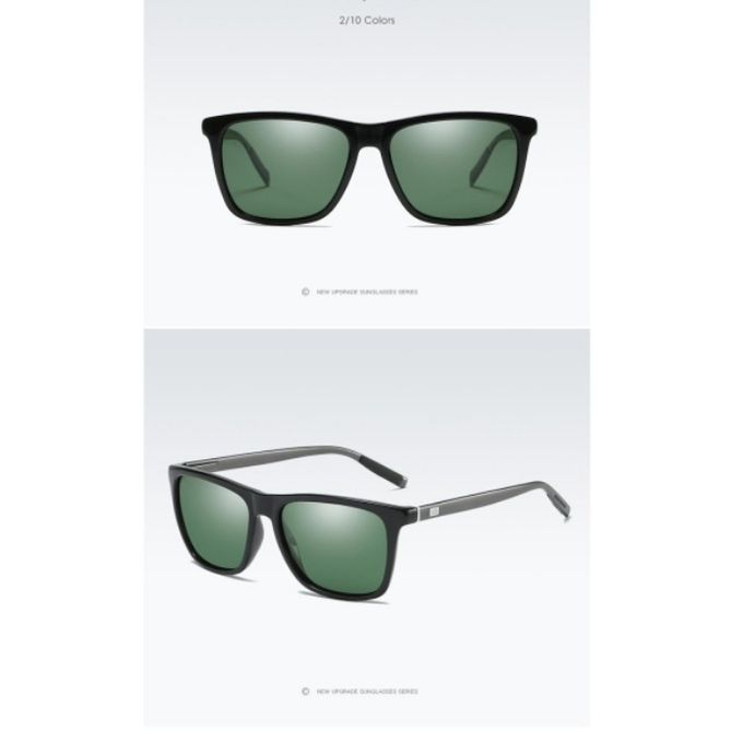 6fec331fc HD النظارات الشمسية المستقطبة الألومنيوم المغنيسيوم UV400 الرجال النساء  القيادة أزياء النظارات خمر النظارات oculos دي