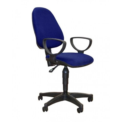 Secretary Office Chair - Dark Blue