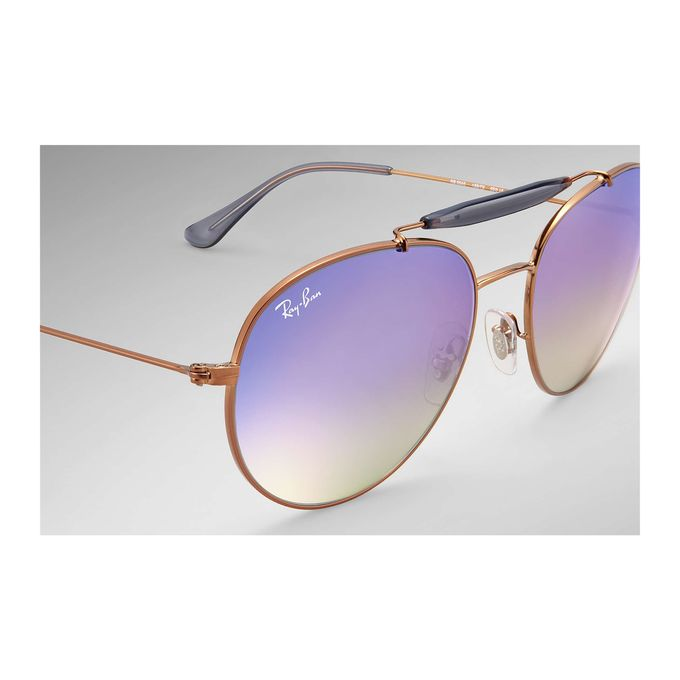 1dc46437bf2 Sale on Ray-Ban Copper RB3540 198-7X Shiny Bronze Lilac Gradient ...