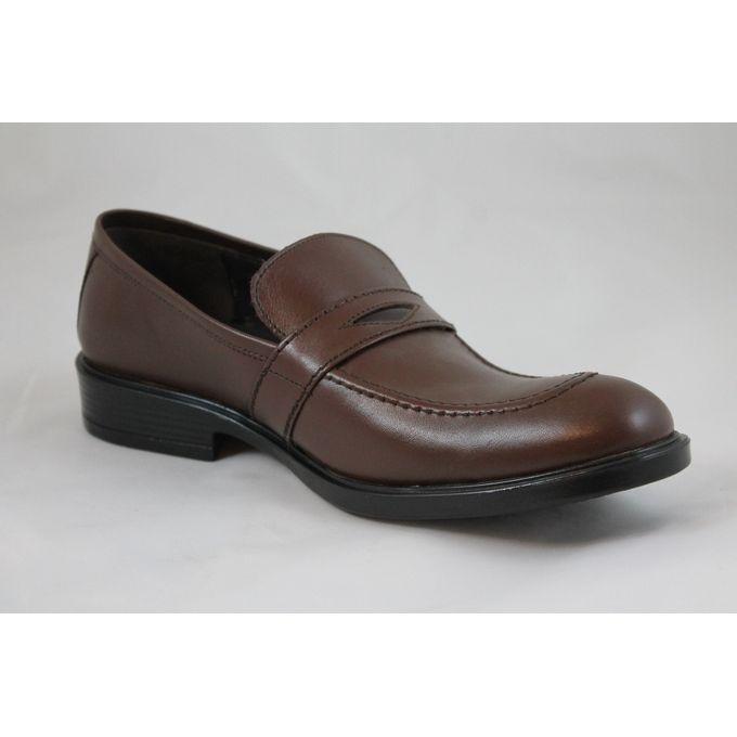 scrado genuine leather dress shoes brown buy
