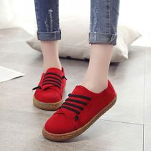 a3c95e3f1 Womens Students Casual Shoes Suede Flat Lazy Loafers Sport Trainer Round  Toe New