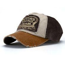 63c2dc049b5b4 New Unisex Baseball Cap Cotton Motorcycle Cap Edge Grinding Do Old Hat YE