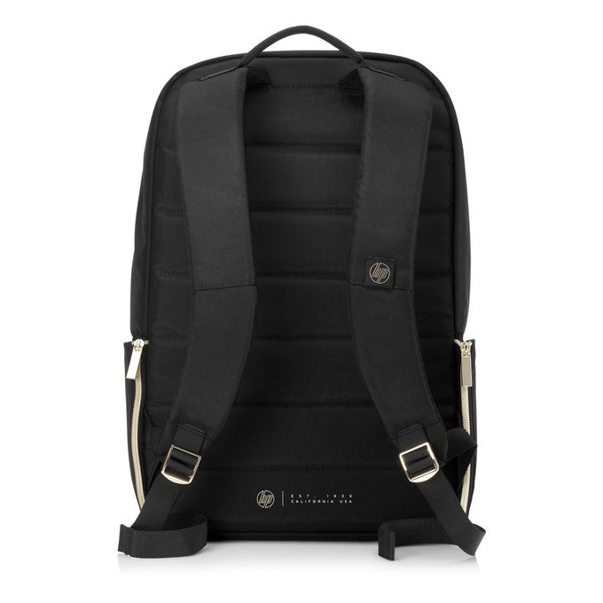 4QF96AA - Duotone Notebook Case Carrying 15 6 Backpack - Black/Gold