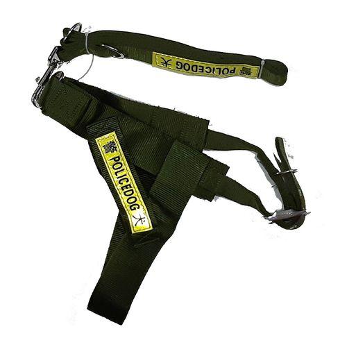 6fae979b4 Nylon Police Dog Harness Leash - L/XL - Jumia مصر