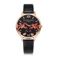 731655a52 Luxury Women's LVPAI Wrist Watches Women Classic Leather Band Analog  Quartz Round