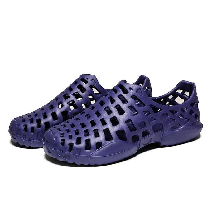b2e918a99f7726 Generic Men Shoes Unisex Hollow Out Casual Couple Beach Sandal Flip Flops  Shoes A1 ...