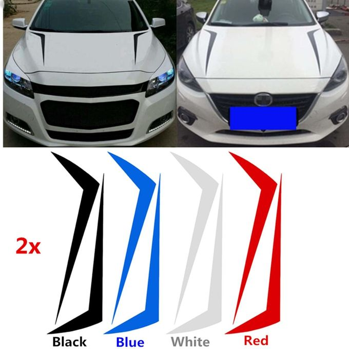 Car Racing Spikes Spears Stripe Hood Decals Vinyl Decor Stickers #CG298 –  مصر