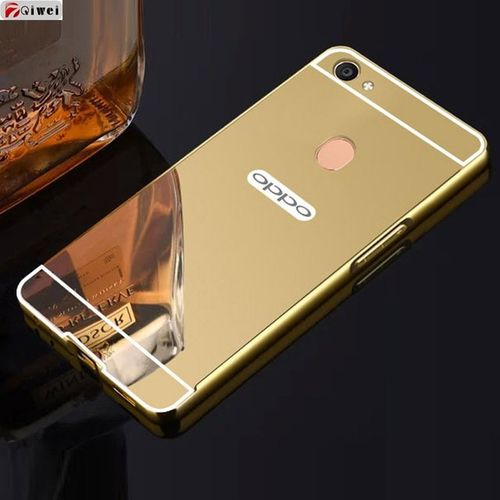 low priced 43c4b 01119 Mirror Case For OPPO F5 - Gold