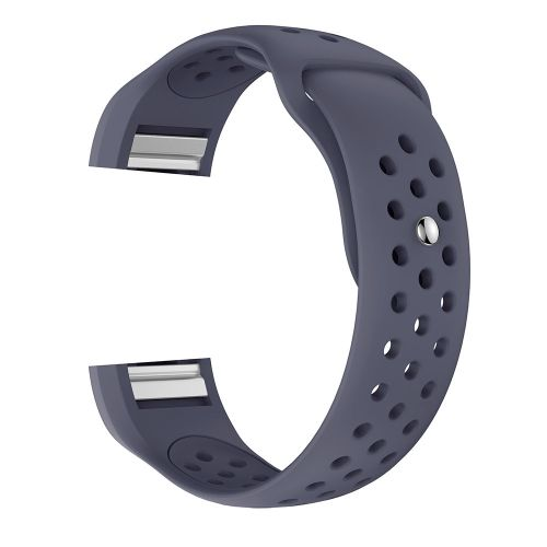 (Xiuxingzi) Small New Fashion Sports Silicone Bracelet Strap Band For  Fitbit Charge 2