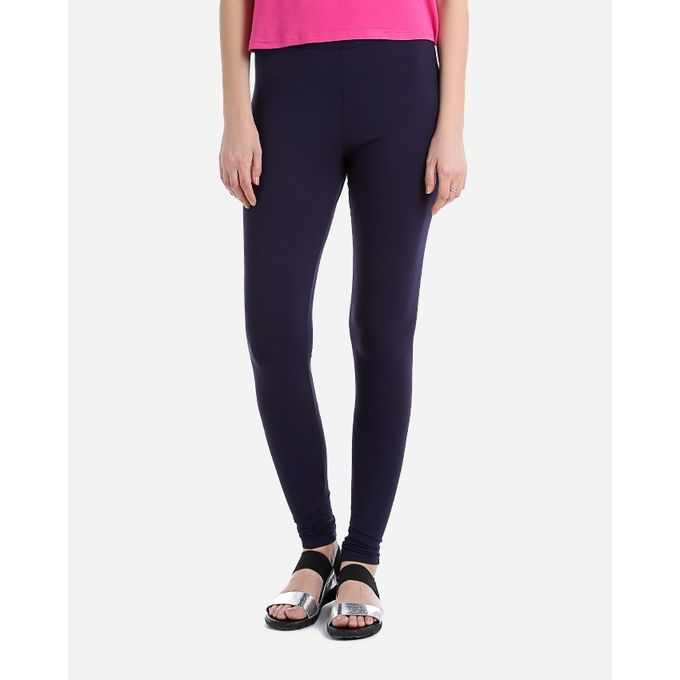 9e9b25a44cde3f Sale on Solid Leggings - Navy Blue | Jumia Egypt