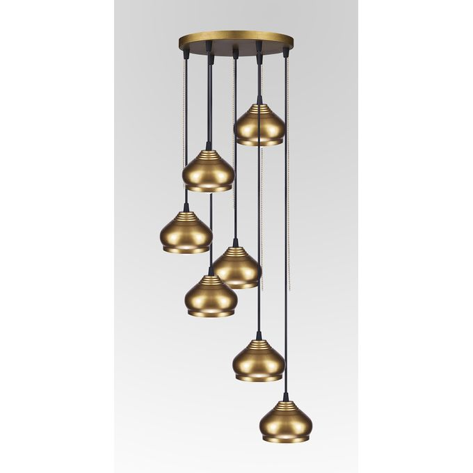 Sale On Arabic Chandelier - Copper Gold