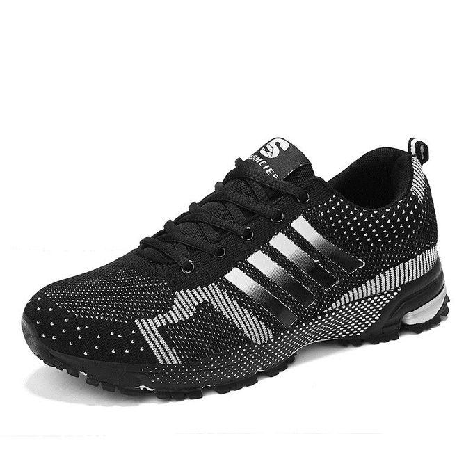 0f5e2b9b9 الرجال والنساء طر حك أديداس الاحذية حذاء رياضة أسود - Jumia مصر