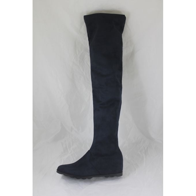 8ce8725fc47 Sale on Nubuck Over Knee Boot - Navy