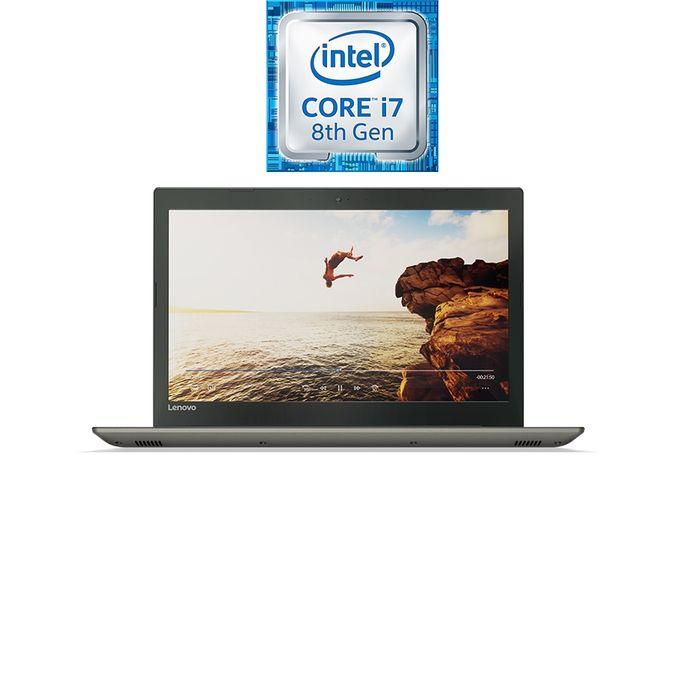 لاب توب IdeaPad 520-15IKB انت كور i7-8550U رام 16 جيجا بايت 2 تيرا بايت هارد ديسك شاشة 15.6 بوصة FHD معالج رسومات 4 جيجا بايت DOS رصاصى