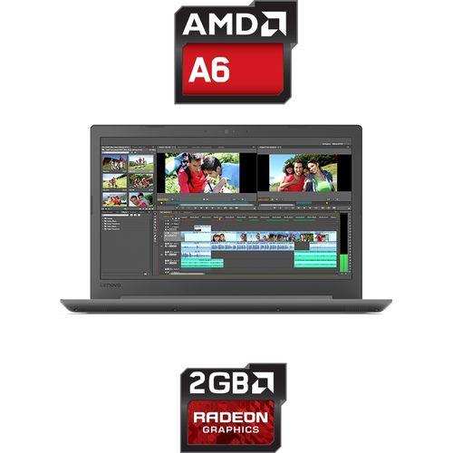 Ideapad 130-15AST Laptop - AMD A6 - 8GB RAM - 1TB HDD - 15 6-inch HD - 2GB  GPU - DOS - Black