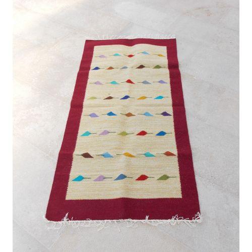 7ca87b166 كليم سجادة يدوي صناعة يدوي صوف مقاس 90 * 160 سم الوان - Jumia مصر