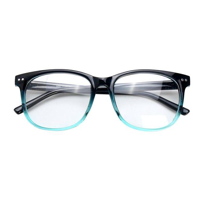 4d99403682a Men Women Spectacles Round Eyeglass Chic Full Rim Frames Optical Eyewear  Glasses ...