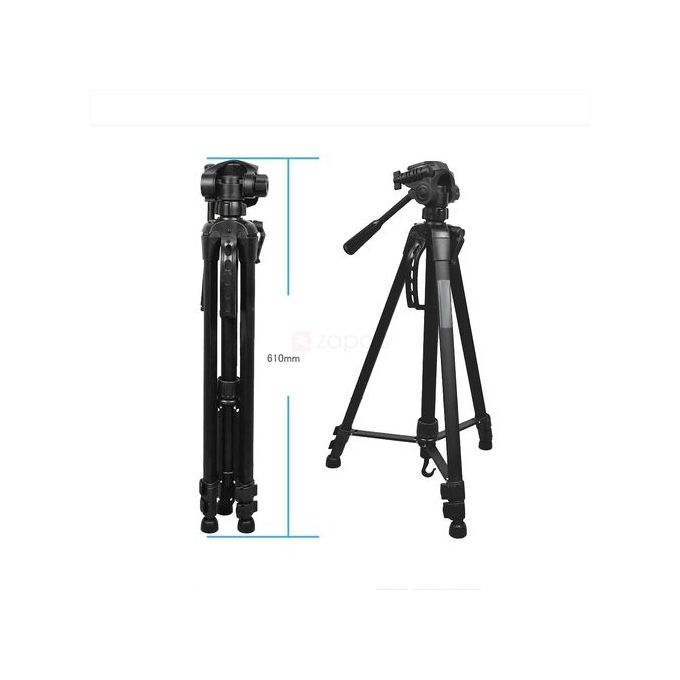 WT-3540 Tripod Stand With Carry Case For Digital Camera DSLR Camcorder