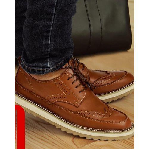 حذاء جلد طبيعي - كاجوال - هافان