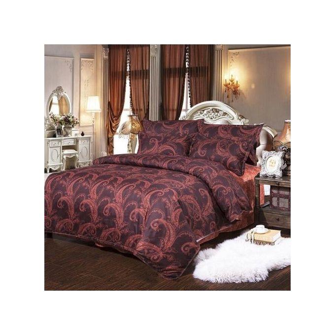 Retro Pattern Single Size Quilt Duvet Cover Pillow Case Bedding Sets –  مصر