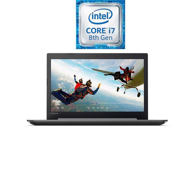 لاب توب IdeaPad 320-15IKBRA - إنتل كور i7 - رام 8 جيجا بايت - هارد ديسك درايف 1 تيرا بايت - شاشة عالية الجودة 15.6 بوصة - معالج رسومات 2 جيجا بايت - DOS - رمادي