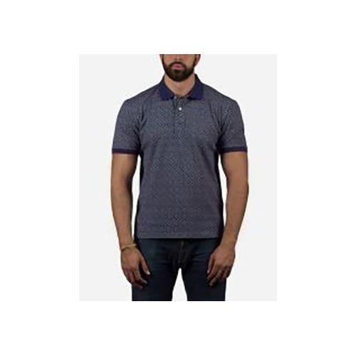 Polo T-shirt- Navy- Full Print - (51)